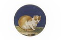 Miniatyrmosaik med katt, från 1790-1830 cirka - Skoklosters slott - 93217.tif