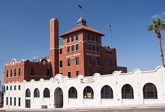 Midway, San Diego - The Mission Brewery building on Pacific Highway, built in 1912, is now on the National Register of Historic Places