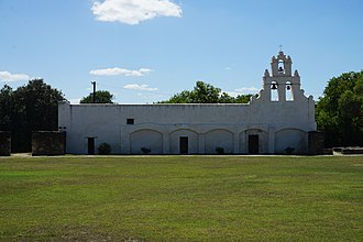 Mission San Juan Capistrano (Texas) - Image: Mission San Juan July 2017 5