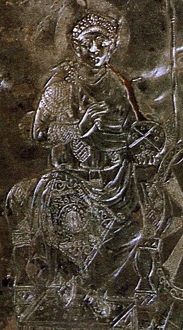 Missorium Théodose dt Arcadius