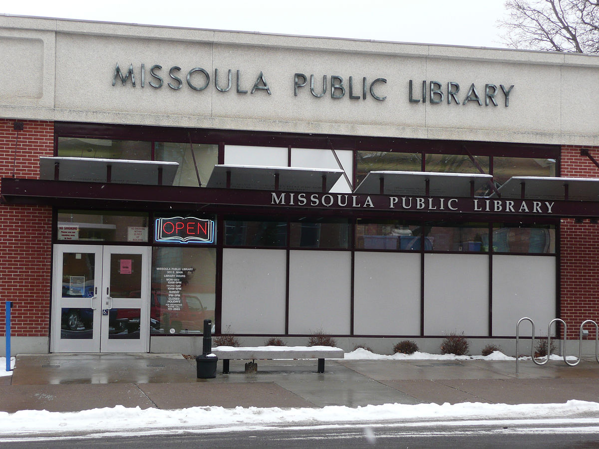 Missoula Public Library - Wikipedia