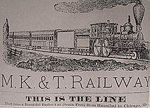 Missouri–Kansas–Texas Railroad - Wikipedia on norfolk southern railroad map, union pacific railroad map, rock island railroad map, columbia railroad map, jacksonville railroad map, raleigh railroad map, el paso county railroad map, katy trail, lynchburg railroad map, knoxville railroad map, u.s. railroad map, mkt railroad map, western pacific railroad map, north missouri railroad map, katy flyer passenger train, wabash railroad map, beaumont railroad map, santa fe railroad map, missouri pacific railroad map, new york erie railroad map,