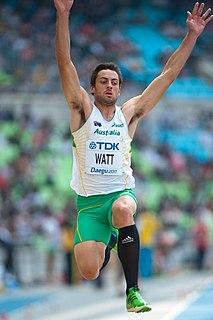 Mitchell Watt Australian track and field athlete