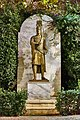 Modern statue of the last Byzantine emperor Constantine XI Palaiologos.jpg