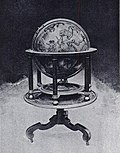 Molyneux's 1592 terrestrial globe, owned by Middle Temple