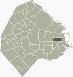 Location of Montserrat within Buenos Aires