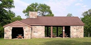 Monson Lake State Park - Monson Lake State Park's Combination Building