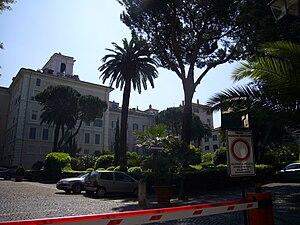 Palazzo Pallavicini-Rospigliosi - View of the palace.