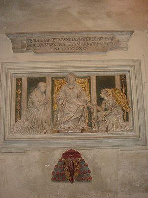 Andrea Bregno - Wall tomb of Nicolas of Cusa, by Andrea Bregno