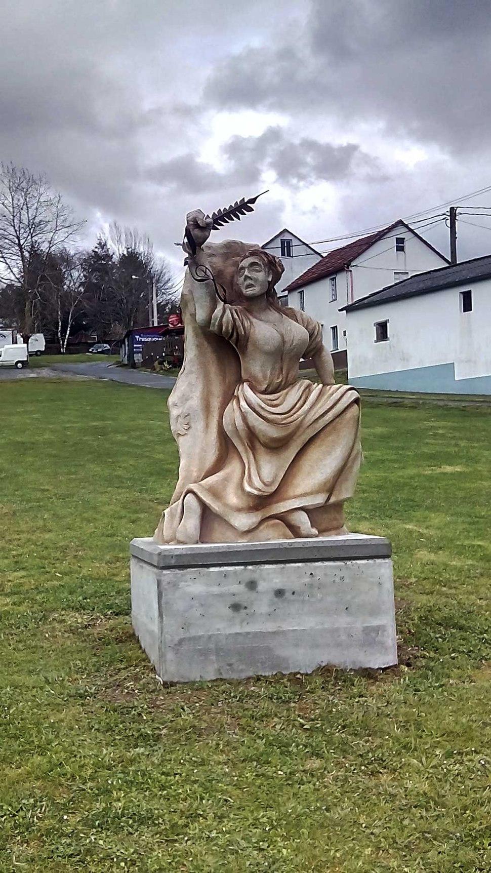 Monumento ás vítimas da Revolta das Pedradas, Sedes, Narón.