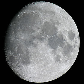 The Moon, after which Monday is named.