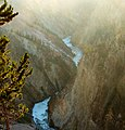 Morning Mist, Grand Canyon of Yellowstone 9-11 (14748293171).jpg