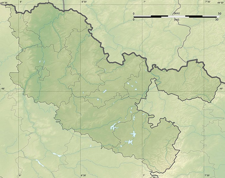Fichier:Moselle department relief location map.jpg