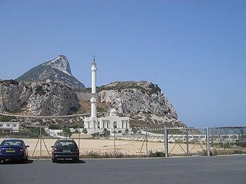 Mezquita Ibrahim-al-Ibrahim, en Gibraltar.