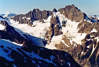 Middle Cascade Glacier glacier in the United States
