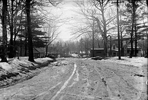 Mount Pleasant Road - Alberta Avenue was a short muddy street which was incorporated into the alignment of Mount Pleasant Road by 1919