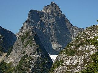 Mount Triumph mountain of the North Cascades in Washington
