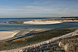 Mouth of the Nissequogue River at Long Island Sound.jpg