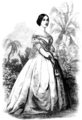 Mrs. Jefferson Davis, Wife of the President of the So-Called Southern Confederacy.png