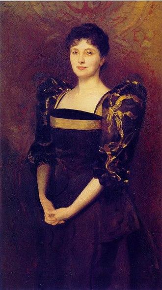 Sir George Lewis, 1st Baronet - Mrs George Lewis (née Elizabeth Eberstadt), John Singer Sargent, 1892