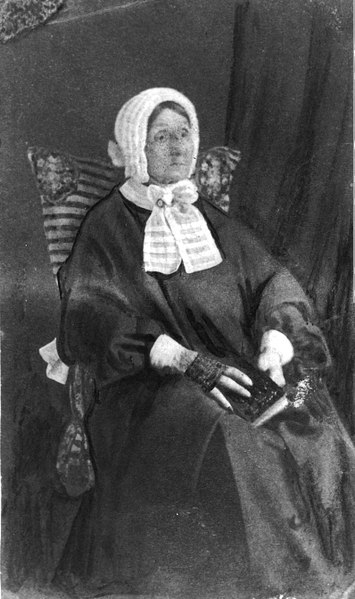Laura Secord in 1865