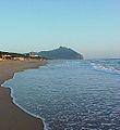 Mt Circeo from Sabaudia Beach.jpg