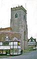 Much Wenlock Holy Trinity Church and Guildhall, 1963 geograph-3387004-by-Ben-Brooksbank.jpg