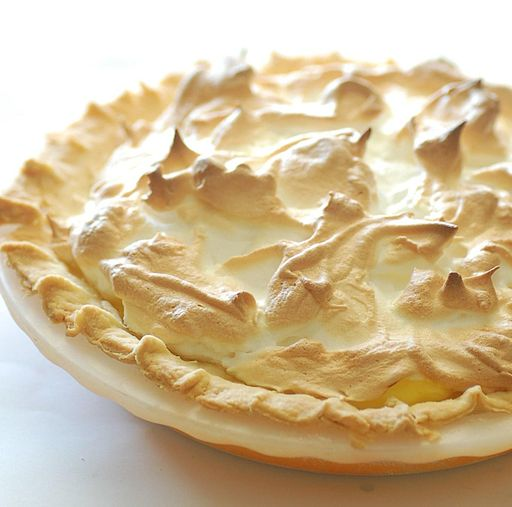 Mum's lemon meringue pie crop