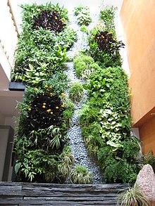 Mur végétalisé — Wikipédia
