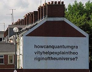 Liam Gillick - Mural, Balfour Avenue, Belfast, 2008