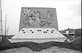 Mural Eternal Fight - Convention Centre complex - Science City - Calcutta 1996-September 045.JPG