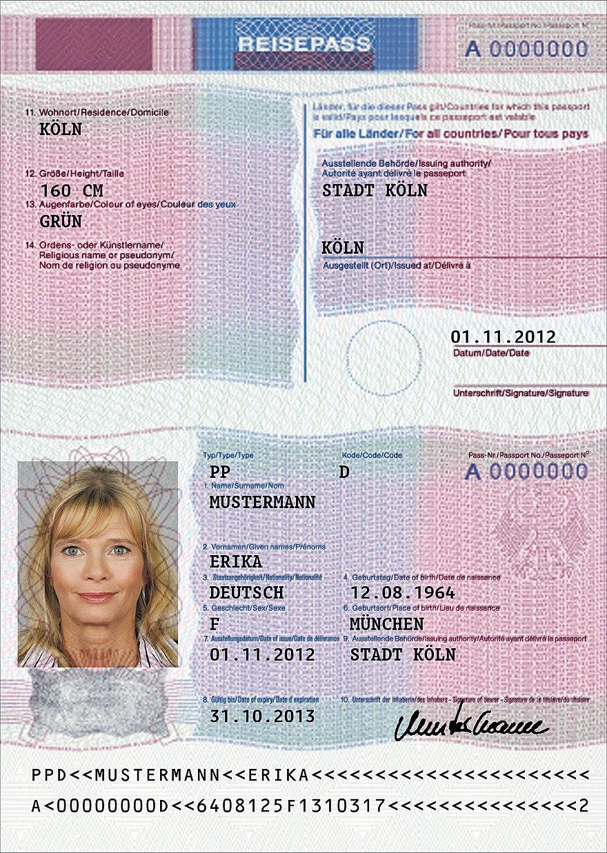 Personalausweis prüfziffer alter Ausweisnummer