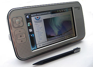 History of tablet computers - The Nokia N800