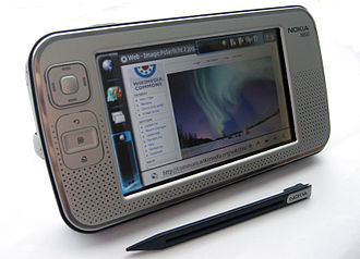 Tablet computer - The Nokia N800