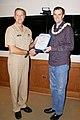 NAVFAC EXWC Lee H. Shannon Receives Navy Meritorious Civilian Service Award (8795135173).jpg