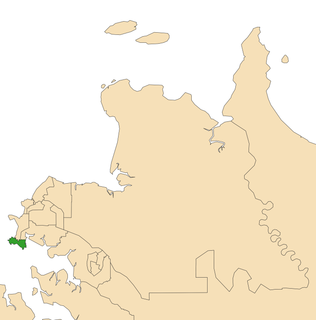 Electoral division of Port Darwin Electoral division of the Northern Territory, Australia