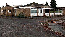 NW corner of the former George Ward School, Melksham (geograph 4236399).jpg