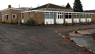 The George Ward Technology College - Image: NW corner of the former George Ward School, Melksham (geograph 4236399)