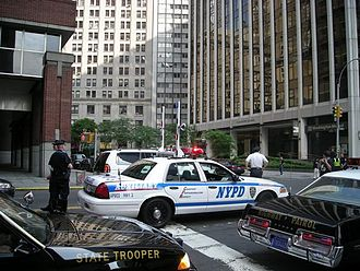 New York City Police Department Highway Patrol - An NYPD Auxiliary Highway Patrol RMP.