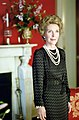 Nancy Reagan in The Red Room During a Photo Session with Harper's Bazaar Magazine C10929-20.jpg