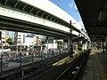 Nankai Shiomibashi Station platform - panoramio (12).jpg