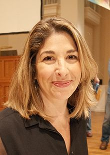 Naomi Klein at Berkeley, California, September 2014.