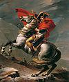 Napoleon at the Great St. Bernard - Jacques-Louis David - Google Cultural Institute.jpg