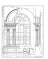 Nassau Hall, Nassau Street, Princeton, Mercer County, NJ HABS NJ,11-PRINT,4B- (sheet 16 of 25).png