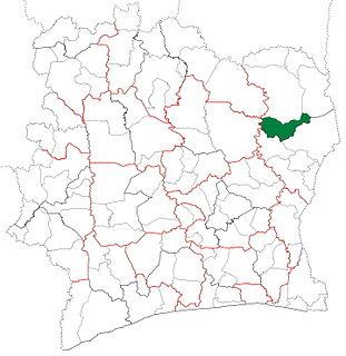 Nassian Department Department in Zanzan, Ivory Coast