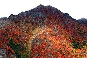 Mount Nasu - Image: Nasu asahidake