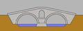 Natursteinbrücke mit Zwei Boegen und Entlastungsbogen.png