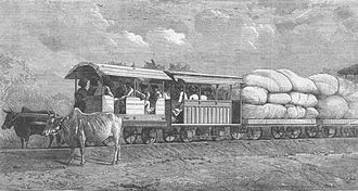 History of trams - Indian Tramway constructed by His Highness the Guicowar of Baroda