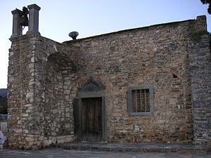 """Neapoli, Crete - Photo of the """"Metamorfosi tou Sotira"""" church in the town of Neapoli"""