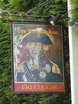 Nelson Inn pub sign, Longley Green 2008 - geograph.org.uk - 813211